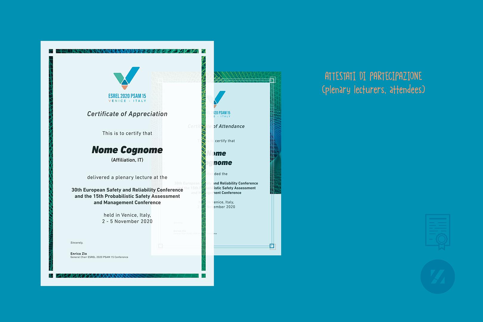 Roberto Zanoletti-PoliMi-Esrel2020-Psam15 Certificati